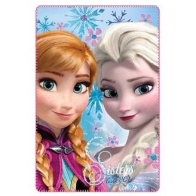 Κουβέρτα φλις παιδική κρεβατιού Frozen 4022b