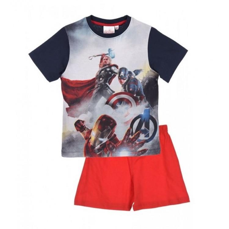 c15bccd6ab9 -50% Μη Διαθέσιμο Πυτζάμα παιδική καλοκαιρινή Avengers 2078