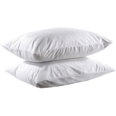 Αδιάβροχες Προστατευτικές Μαξιλαροθήκες Ζεύγος - 50x70 Λευκό Beauty Home