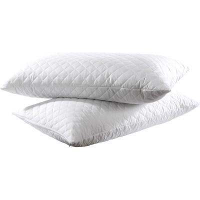 Καπιτονέ Προστατευτικές Μαξιλαροθήκες Ζεύγος - 45x65 Λευκό Beauty Home