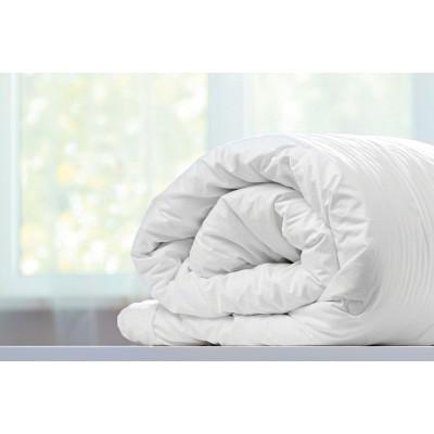 Πάπλωμα πουπουλένιο μονό - 160x240 Λευκό Beauty Home