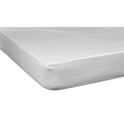 Αδιάβροχο Προστατευτικό Στρώματος - 160x200+30 Λευκό Beauty Home