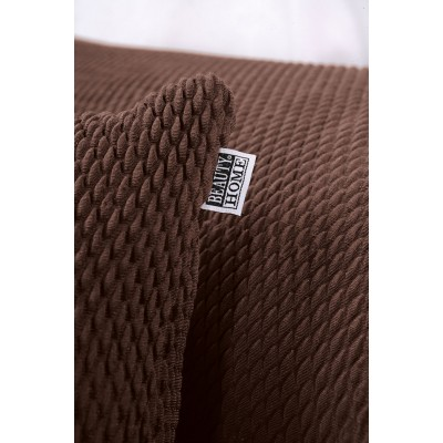 Ελαστικό κάλυμα για μαξιλάρι διακοσμητικό σε 5 χρώματα - Μαξιλαροθήκη Γκρι Beauty Home