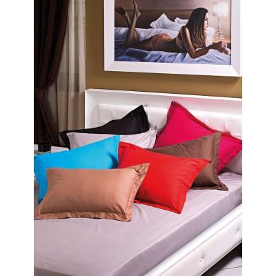 Σεντόνια υπέρδιπλο με λάστιχο Art 1380 σε 10 χρώματα - 170x200+28 Λαχανί Beauty Home