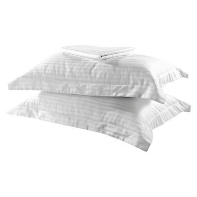 Σετ σεντόνια υπέρδιπλα Dobby Stripe Art 1381 - 240x260 Λευκό Beauty Home