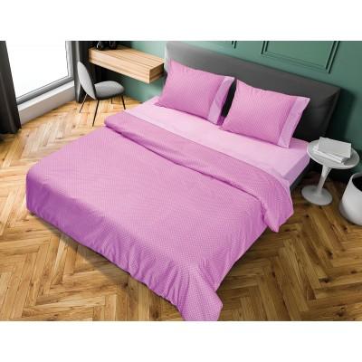 Κουβερλί μονό πουά JOY Art 1680 σε 8 χρώματα - 160x240 Μωβ Beauty Home