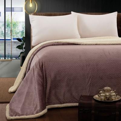 Κουβέρτα υπέρδιπλη σε 6 χρώματα Art 171ΚΒΥΔ - 220x240 Εκρού Beauty Home