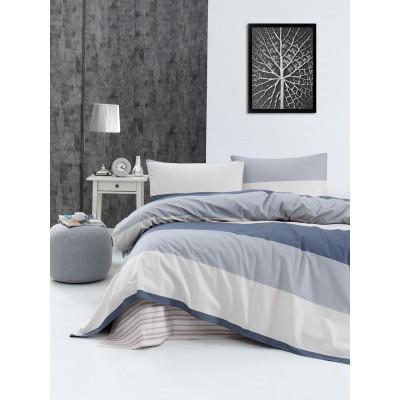 Κουβερλί υπέρδιπλο Lines Art 1809 - 220x240 Εμπριμέ Beauty Home