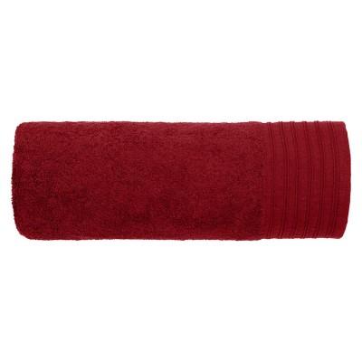 Πετσέτα μπάνιου Art 3030 σε 18 αποχρώσεις  80x150 - Μπορντό Beauty Home