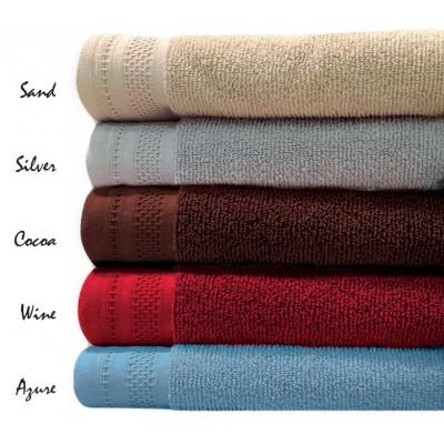Πετσέτα μπάνιου σε 2 χρώματα Art 3070 - 100x160 Καφέ Beauty Home