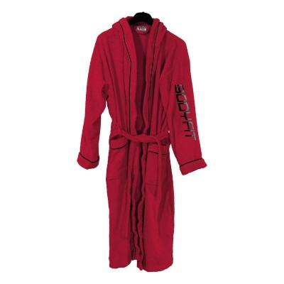 Μπουρνούζι με κουκούλα Art 3120 - M-L Κόκκινο Beauty Home