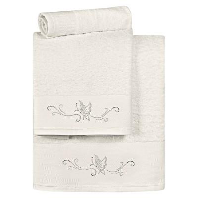 Σετ πετσέτες Art 3176  Σετ 3τμχ  Εκρού Beauty Home