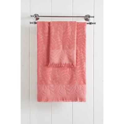Πετσέτα μπάνιου Art 3220  70x140  Κοραλί Beauty Home