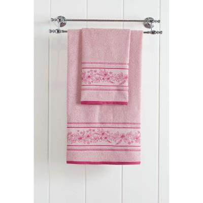 Πετσέτα προσώπου Art 3225  50x90  Ροζ Beauty Home