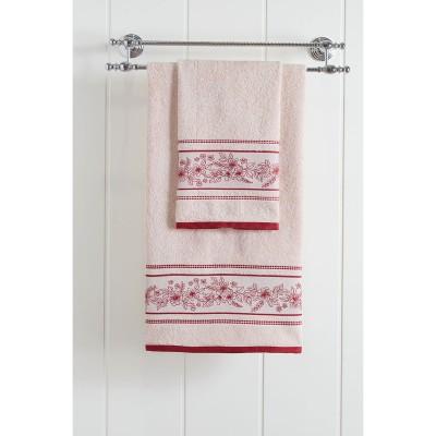 Πετσέτα μπάνιου Art 3226 - 70x140 Εκρού Beauty Home