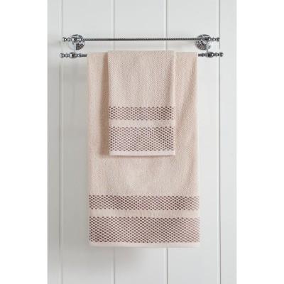 Πετσέτα μπάνιου Art 3227 - 70x140 Εκρού Beauty Home