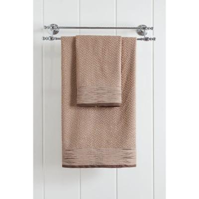 Πετσέτα προσώπου Art 3233  50x90  Μπεζ Beauty Home