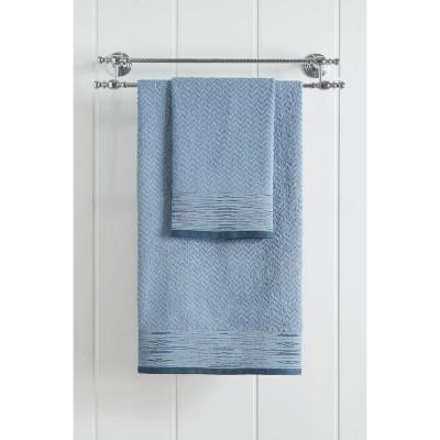 Πετσέτα προσώπου Art 3234  50x90  Γαλάζιο Beauty Home