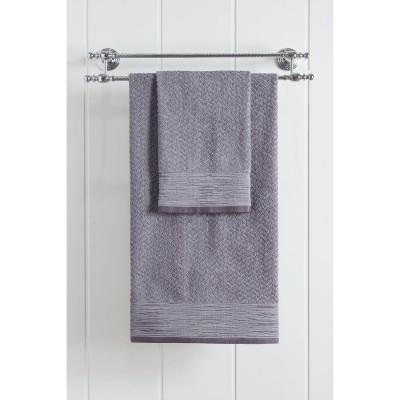 Πετσέτα μπάνιου Art 3235  70x140  Γκρι Beauty Home