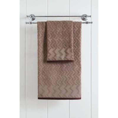 Πετσέτα μπάνιου Art 3237  70x140  Καφέ Beauty Home