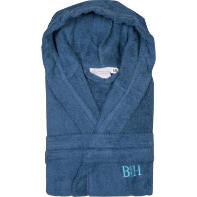 Μπουρνούζι με κουκούλα Art 3271 - S-M Μπλε Beauty Home