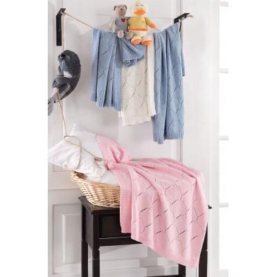 Κουβερτούλα βρεφική σε 3 χρώματα Art 5115 - 70x90 Εκρού Beauty Home