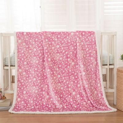 Κουβέρτα βρεφική 80x110 σε 3 χρώματα Art 5136 - 80x110 Ροζ Beauty Home