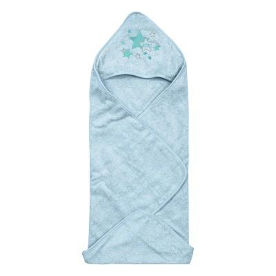 Κάπαμπουρνούζι Art 5148  02ετών  Γαλάζιο Beauty Home