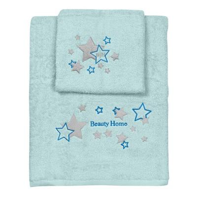 Σετ πετσέτες Art 5151  Σετ 2τμχ  Βεραμάν Beauty Home