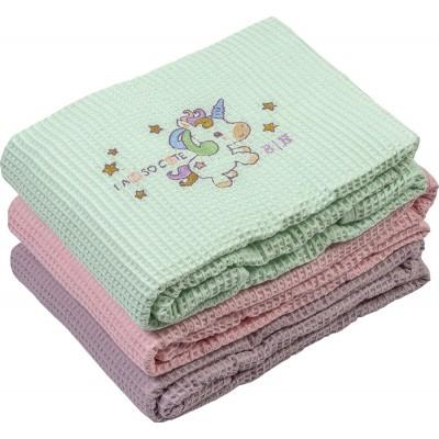 Κουβέρτα πικέ Art 5163 - 120x160 Βεραμάν Beauty Home