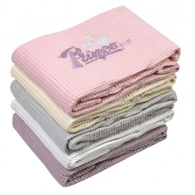 Κουβέρτα πικέ Art 5166  120x160  Ροζ Beauty Home