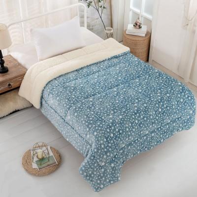 Κουβερτο-πάπλωμα μονό Art 6102 - 160x220 Γαλάζιο Beauty Home