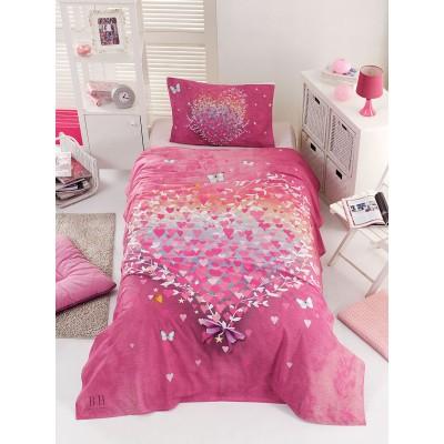 Πάπλωμα μονό Cult Art 6112  160x240  Ροζ Beauty Home