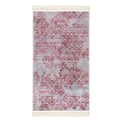 Πατάκι Aerial Art 9031 0.80x1.50 - 0.80x1.50 Γκρι, Ροζ Beauty Home