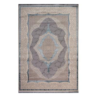 Διάδρομος Mystic Art 9307 0.67 - 0.67 Διάδρομος Γαλάζιο, Γκρι Beauty Home