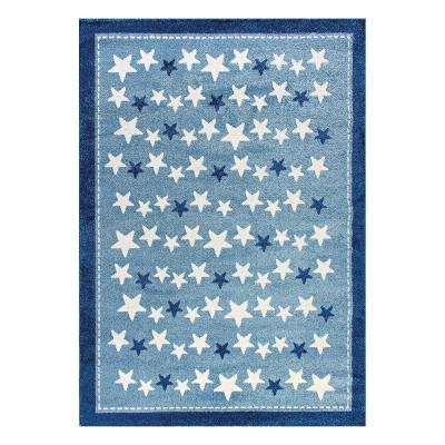 Διάδρομος Yolo Art 9508 0.70 - 0.70 Διάδρομος Γαλάζιο Beauty Home