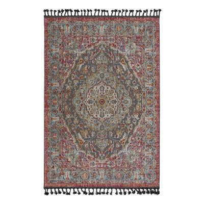 Πατάκι Boutique Art 9810 0.64x1.40  0.64x1.40  Εμπριμέ,Κόκκινο Beauty Home
