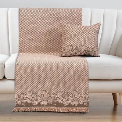 Ριχτάρια σετ 2τμχ Art 8341 (180x250 + 180x300) - Σετ ριχταριών 2τμχ Ροζ Beauty Home