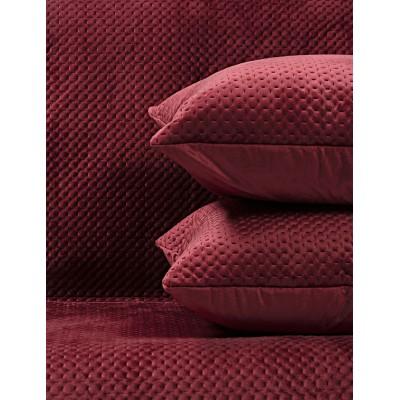 Μαξιλαροθήκη διακοσμητική Velvety 42x42 Art 8352 - Μαξιλαροθήκη Κόκκινο Beauty Home