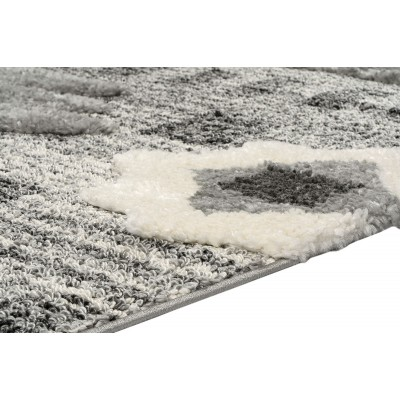 Σετ Κρεβ/ρας 3τμχ Everest Art 9623 Grey/Grey - Σετ Κρεβ/ρας 3τμχ Γκρι, Εκρού Beauty Home