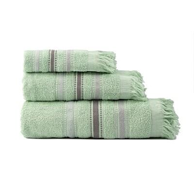 Σετ πετσέτες Art 3260  Σετ 3τμχ  Βεραμάν Beauty Home