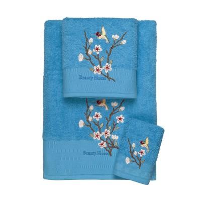 Σετ πετσέτες Art 3304  Σετ 3τμχ Τυρκουάζ Beauty Home