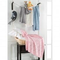 Κουβερτούλα βρεφική σε 4 χρώματα Art 5115  70x90 - Γκρι Beauty Home