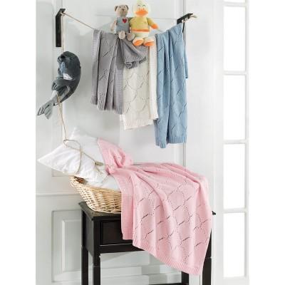 Κουβερτούλα βρεφική σε 4 χρώματα Art 5115  70x90 - Ροζ Beauty Home