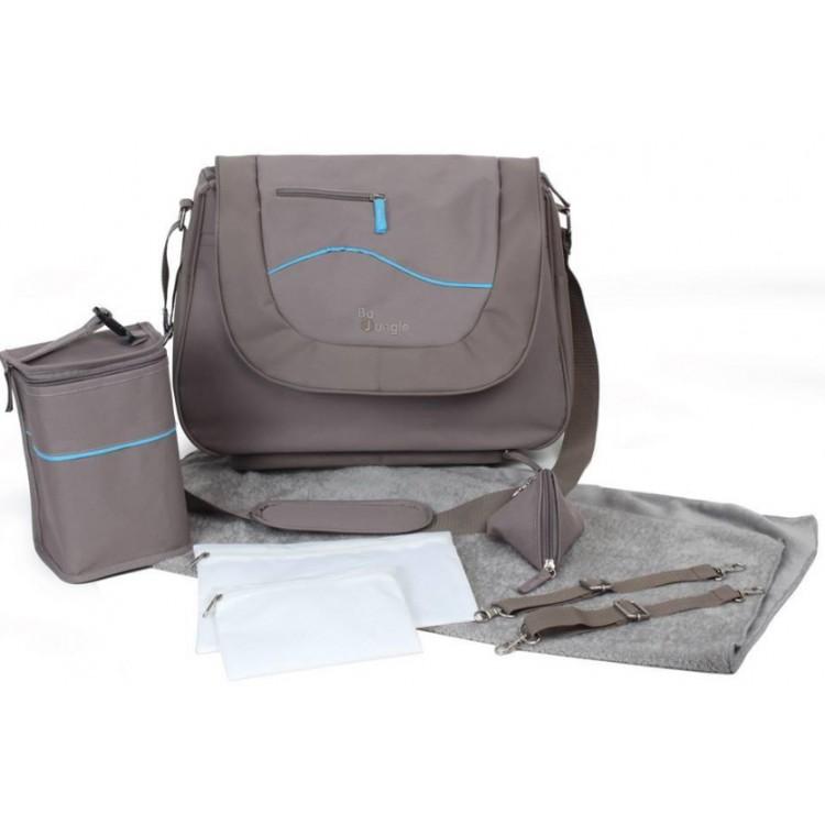 e432d0b8ba Τσάντα αλλαξιέρα LEISURE μπεζ