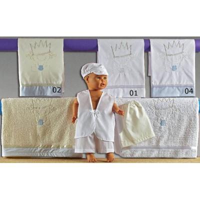 Λαδόπανα βάφτισης πρίγκιπας Nuova Vita