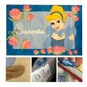 Παιδικό χαλί Disney 115x168cm Cinderella DH020