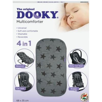 Στρωματάκι - κάλυμμα 4 σε 1 universal Grey Star Dooky 126920