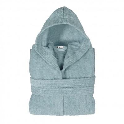 Μπουρνούζι με κουκούλα, XL, Μπλε, Σειρά Comfort, 420gr/m², Πενιέ,  FENNEL BRHC-XL-BL