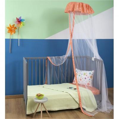 Παιδική Κουνουπιέρα, 100% Βαμβάκι & Πολυέστερ, με σχέδιο Πεταλούδα ZOUZOUNIA ZOU-BD-211